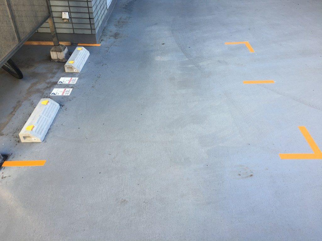 月極駐車場 36山京ビルの写真1
