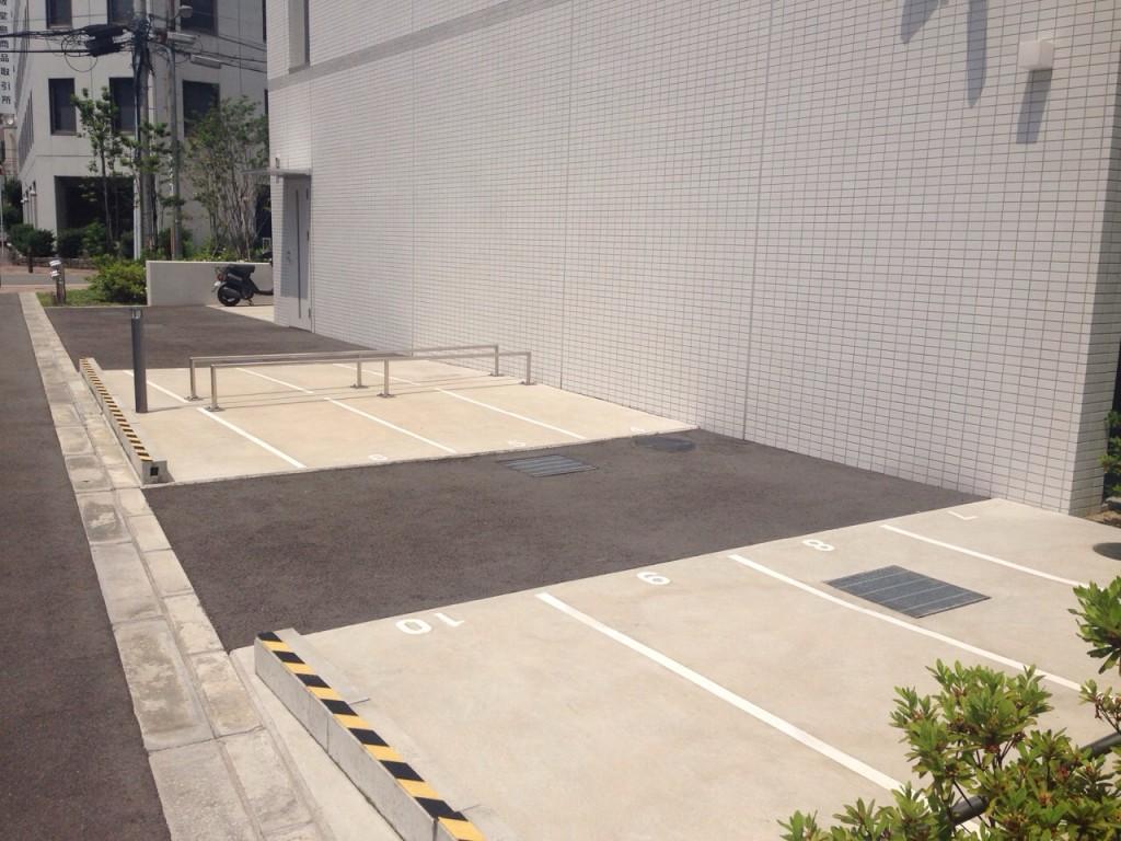 月極駐車場 ドゥーエ立売堀の写真1