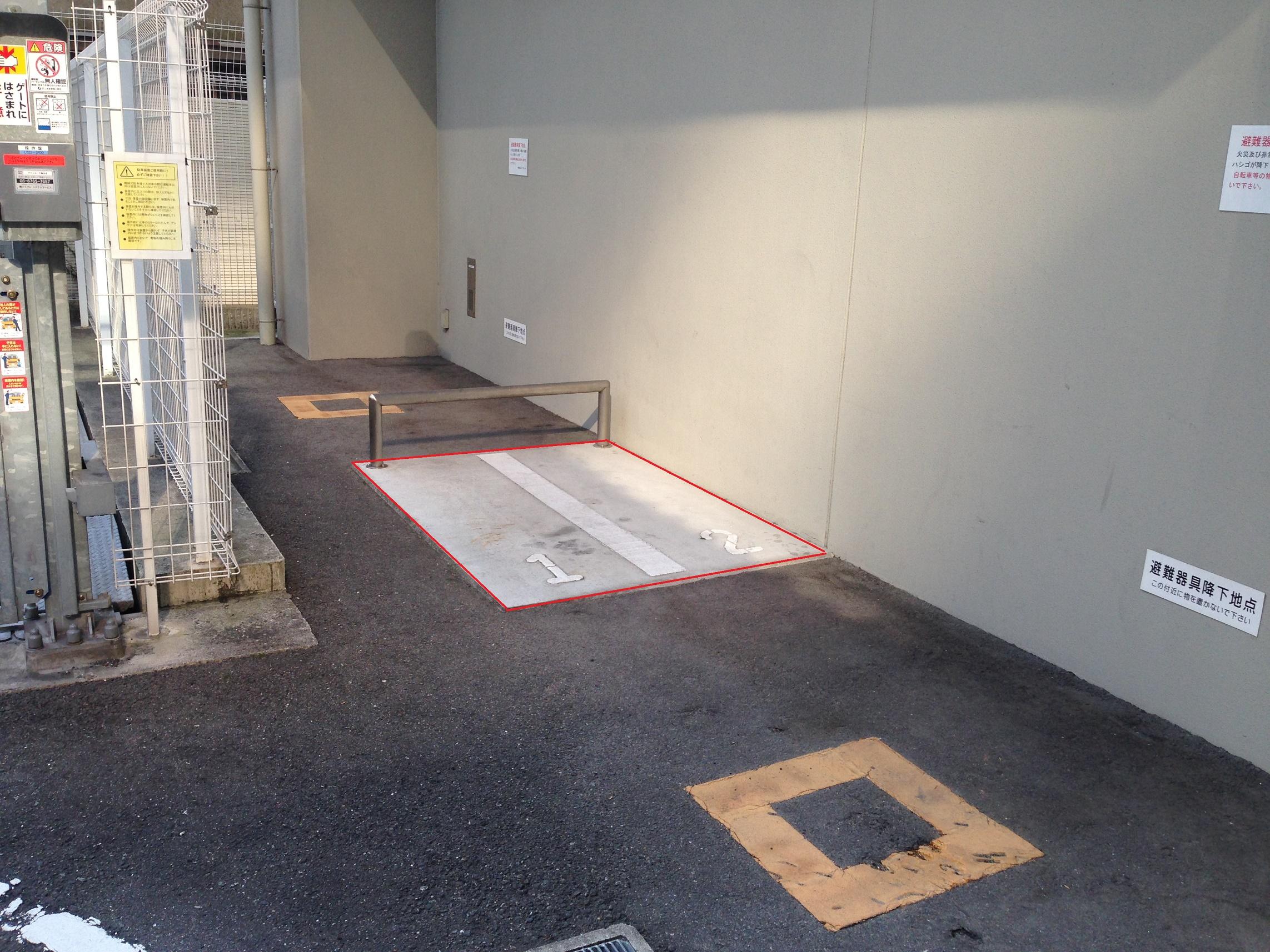 月極駐車場 グランカーサ梅田北の写真1