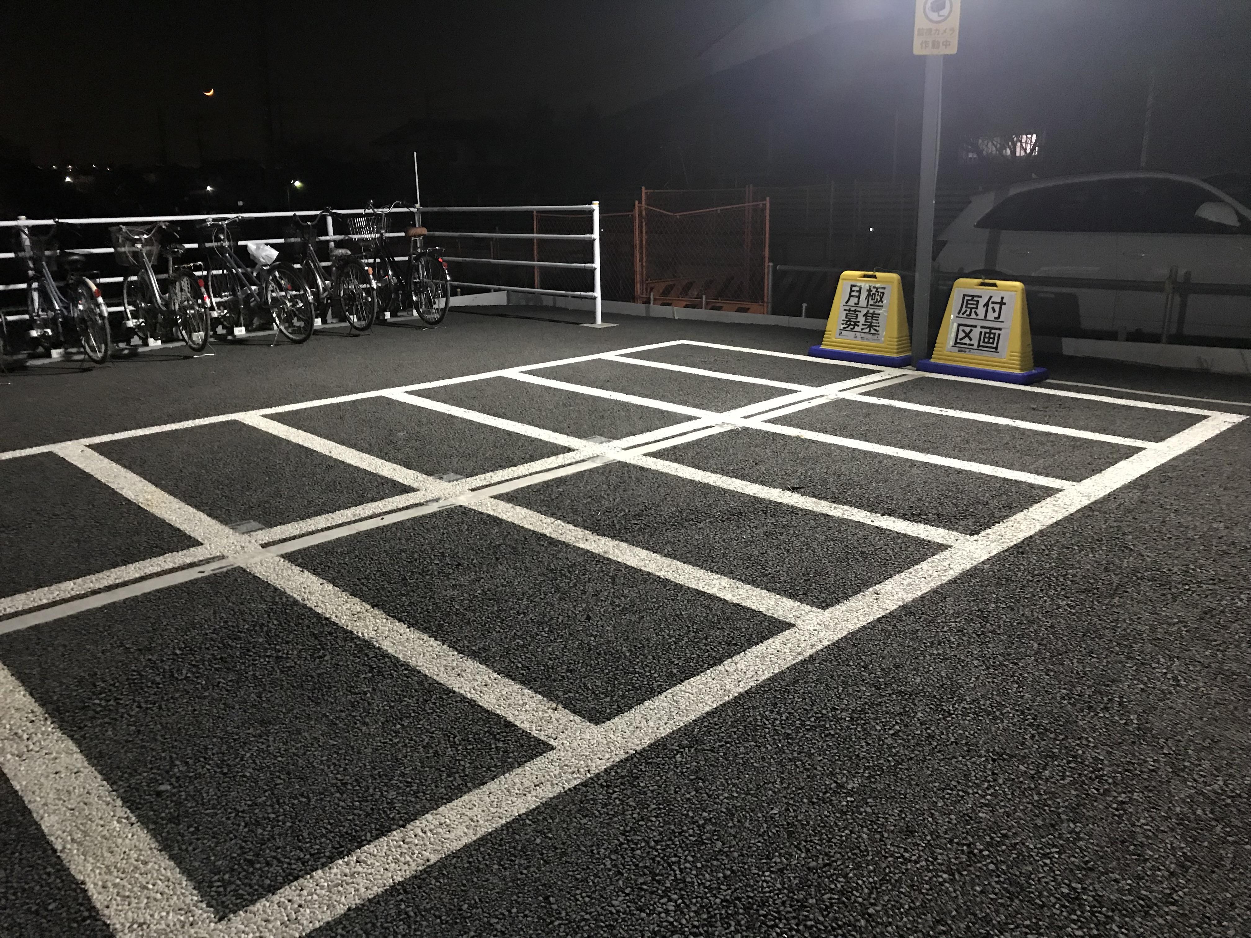 月極駐車場 岩槻駅前駐輪場の写真1