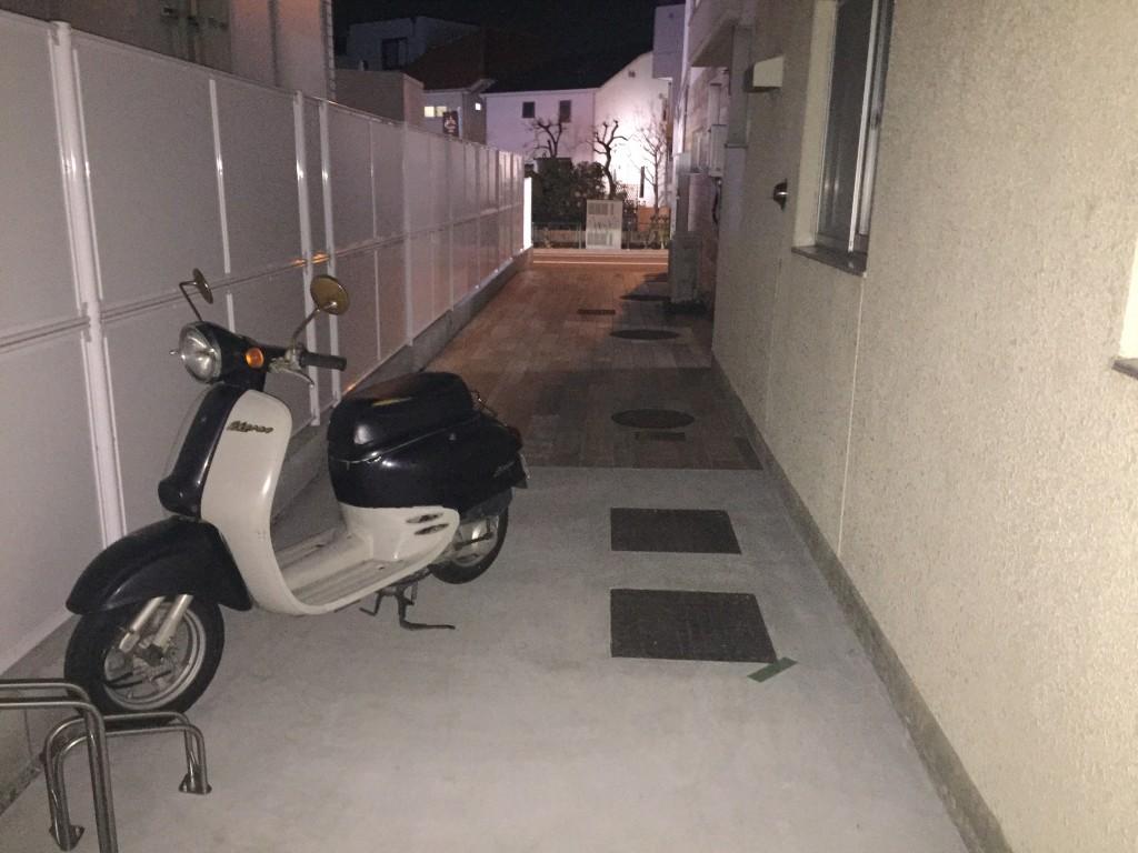 月極駐車場 上野毛マンシオンの写真1