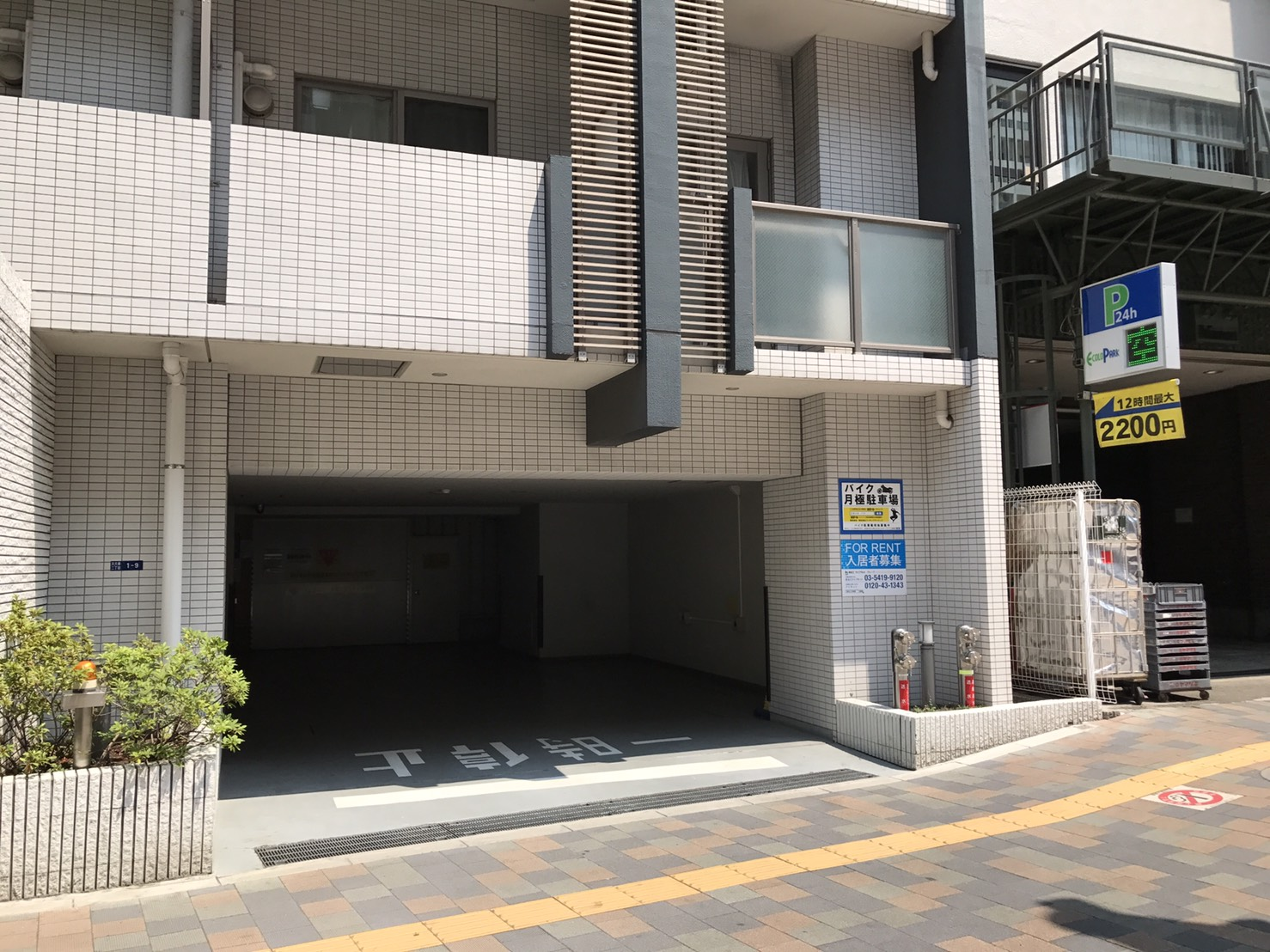 月極駐車場 KDXレジデンス東新宿の写真1