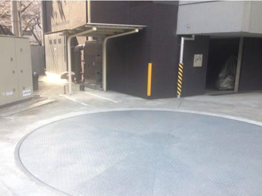 月極駐車場 パークフラッツ中目黒の写真1