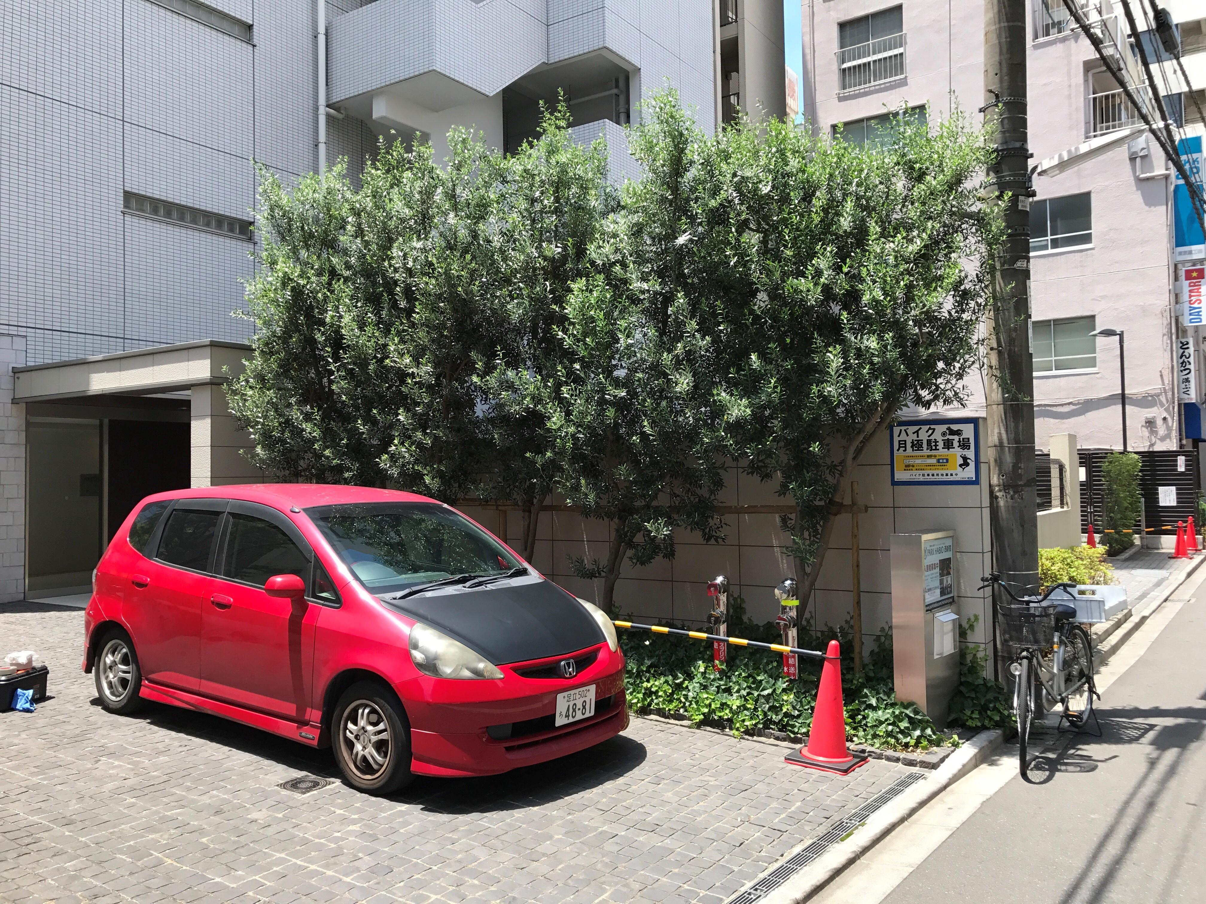 月極駐車場 パークハビオ西新宿の写真1