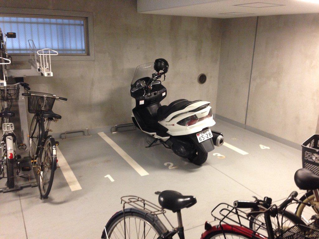 月極駐車場 パークハビオ武蔵小山の写真1