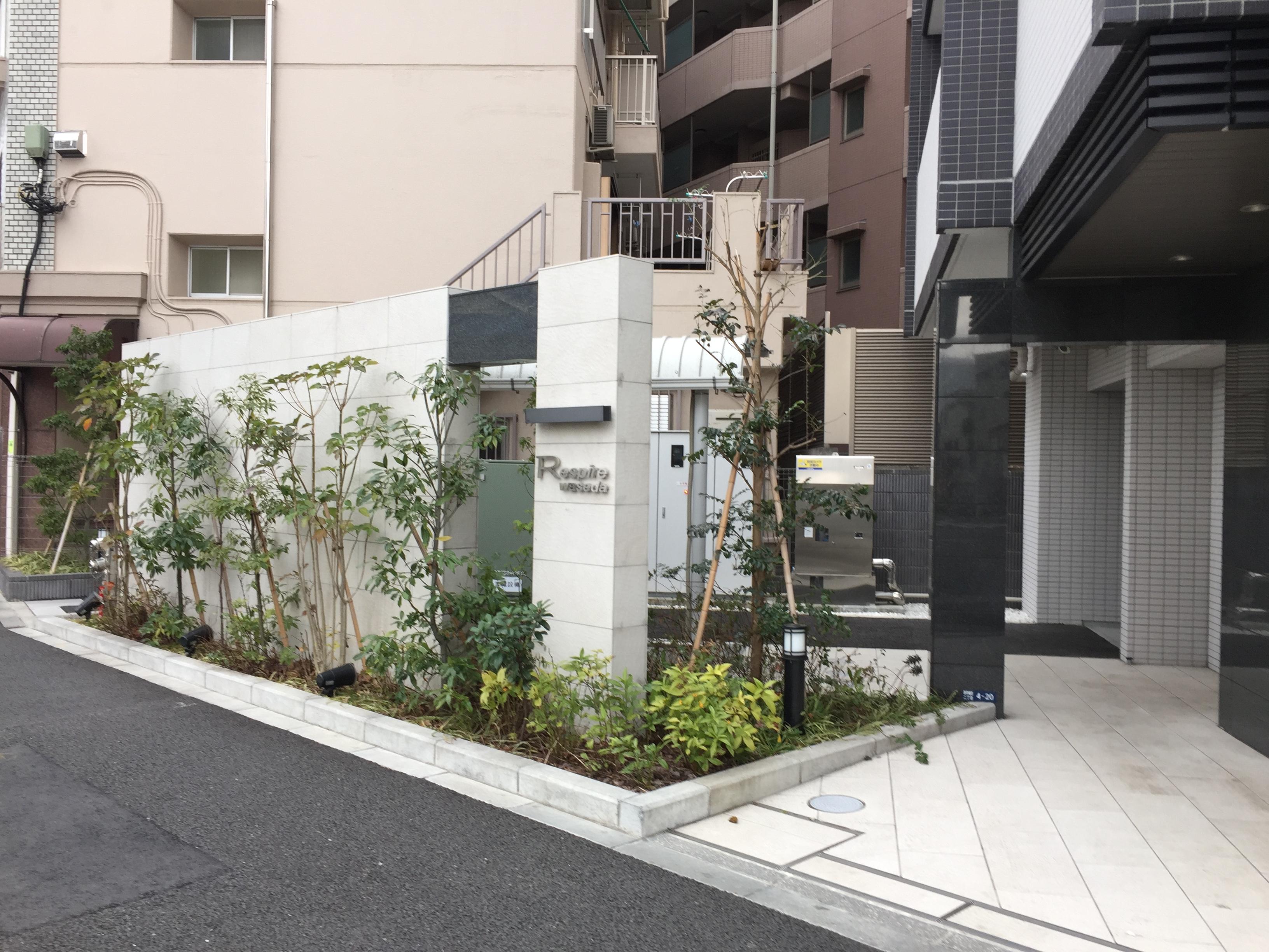 月極駐車場 レスピール早稲田の写真1