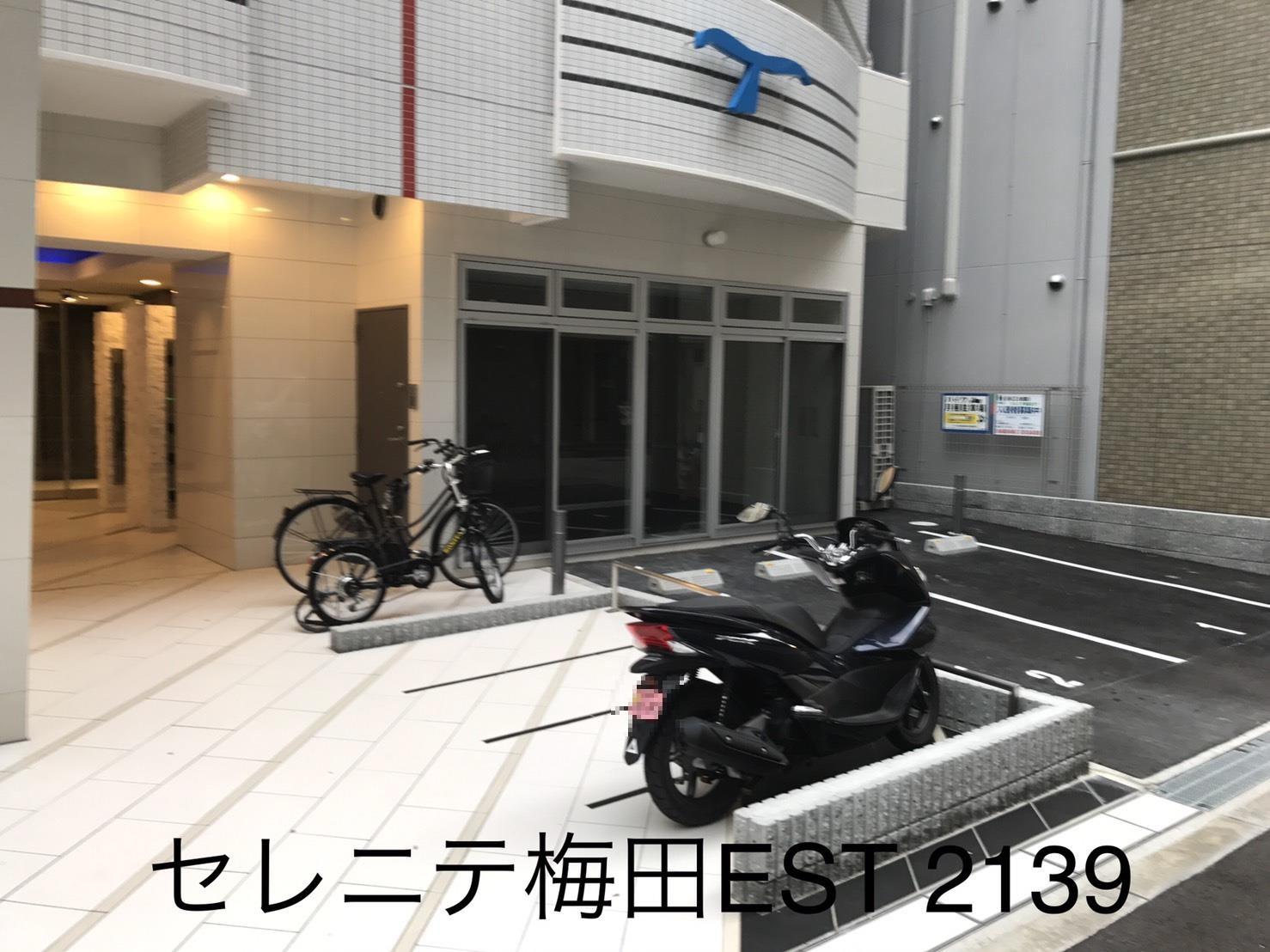 月極駐車場 セレニテ梅田ESTの写真1
