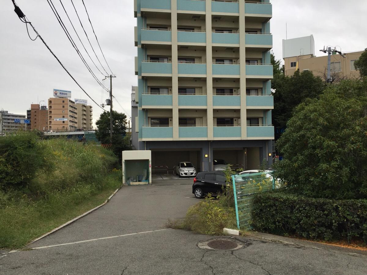月極駐車場 ビスタ江坂南の写真1