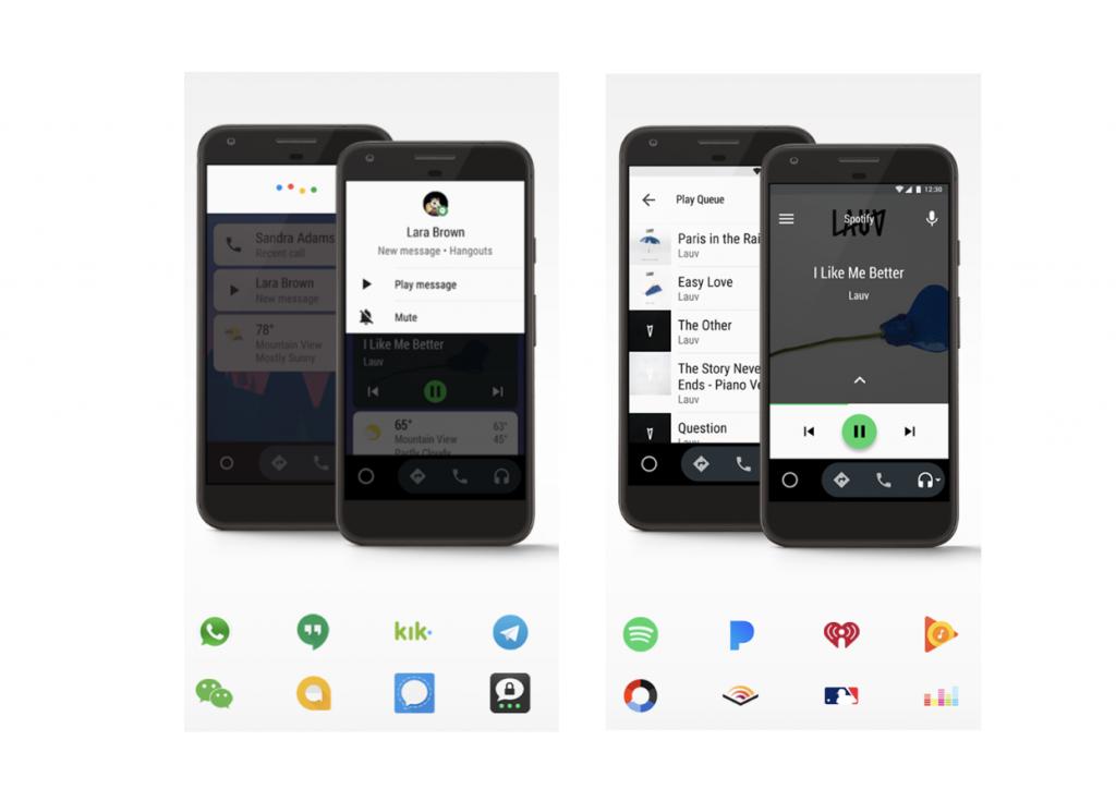 Android Autoのアプリ