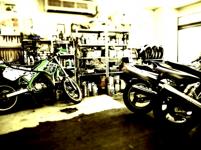 バイクのレストア