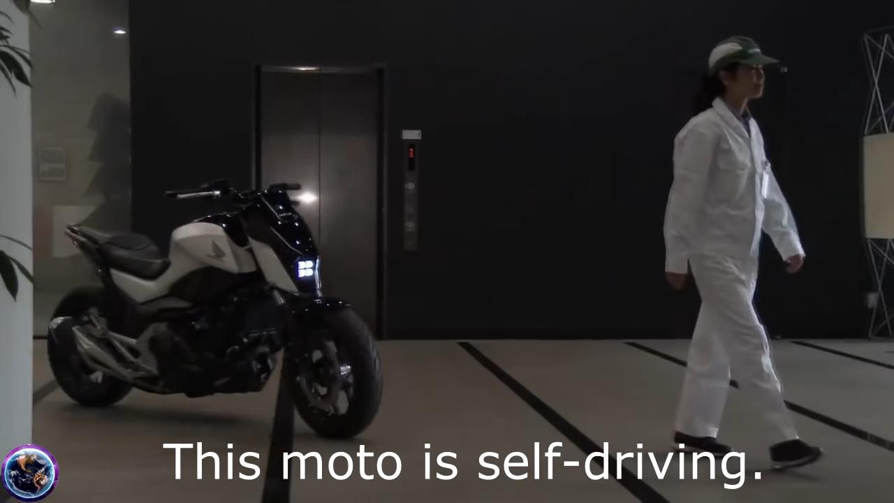 バイク自動運転