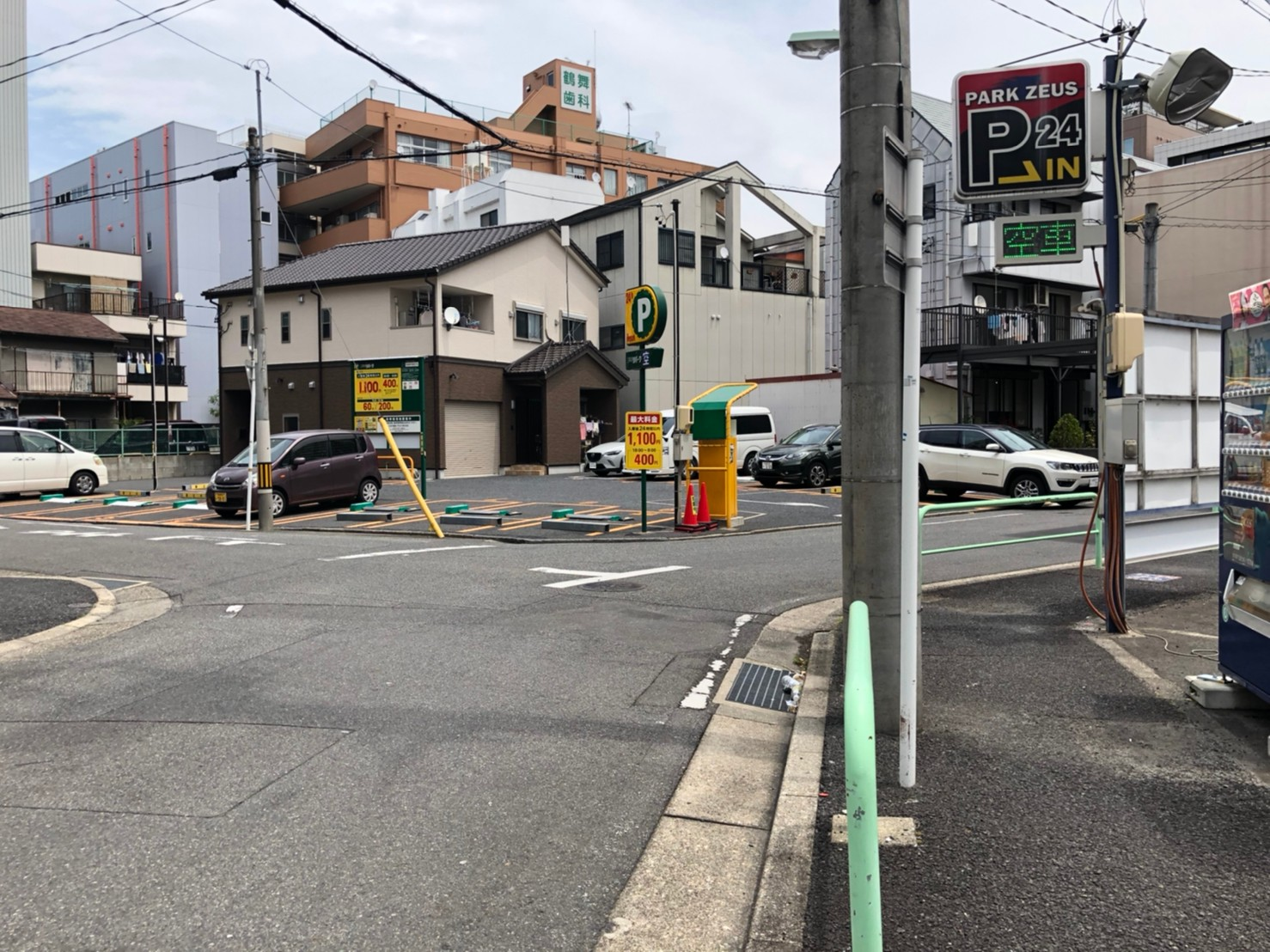 千代田5丁目バイク月極駐車場外観写真